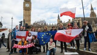 Протести на підтримку мігрантів у Лондоні