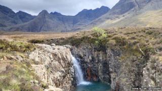 Fairy Pools in Skye