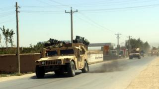 Afghan forces leave Kunduz's Charkhab area to engage the Taliban