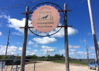 Attawapiskat sign