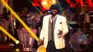 Gregory Porter performs for Strictly Come Dancing