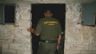 Greek border guard in Evros area, 2007 file pic
