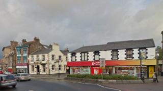 Galashiels town centre