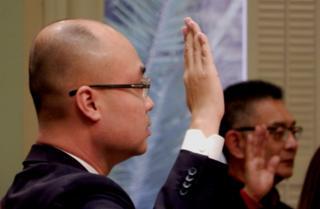 Tyler Diệp tuyên thệ nhận chức dân biểu tiểu bang hôm 3/12 tại thủ phủ Sacramento, California