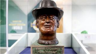 Patrick O'Connell bust
