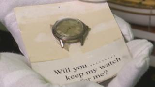 "The watch is quite ordinary but curators say it has an ""extraordinary"" story to tell"