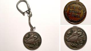 匯豐銀行鑰匙扣