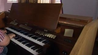 Organ at Westcliff church