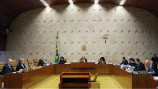 Sessão plenária do STF
