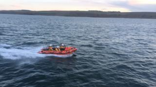 Eyemouth inshore lifeboat