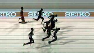 Yarışın foto finişi