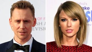 Tom Hiddleston na Swift Taylor
