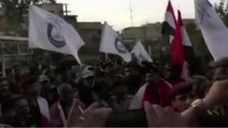 پس از کرکوک، پرچم عراق در سنجار