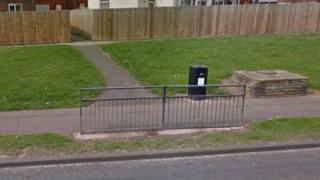 Dunstable Close walkway in Stockton-on-Tees