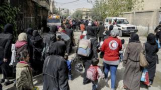 الغوطة الشرقية هي المعقل الأخير للمعارضة المسلحة على مشارف دمشق، ولكن لم يبق تحت سيطرة مسلحي المعارضة إلا نحو 10 في المئة فقط من أراضيها.