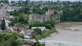 Chepstow Castle gates 'oldest in Europe'