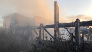 Gamlingay fire