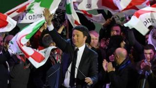 Raisul Wasaarhii hore ee Talyaaniga Matteo Renzi