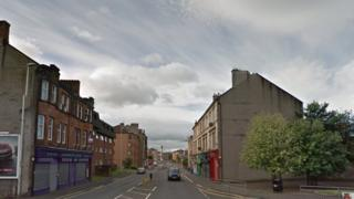 Neilston Road in Paisley
