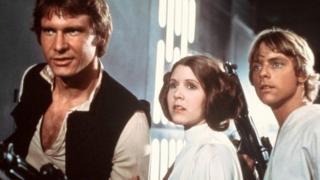 """1970-ci illərdə Carrie Fisher """"Ulduz müharibələri"""" film seriyasının üç epizodunda çəkilib"""