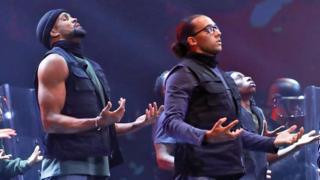 Ashley Banjo and Perri Kiely of Diversity on Britain's Got Talent