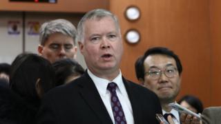 US special envoy for North Korea Stephen Biegun