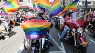 Гей-парад в Нью-Йорке