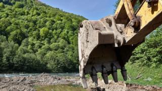 Будівництво малої ГЕС на Закарпатті