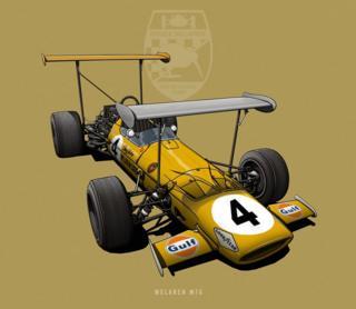 """McLaren M7A - """"Double Decker"""""""