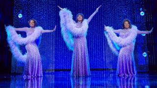 Ibinabo Jack, Liisi LaFontaine and Amber Riley in Dreamgirls