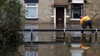 Flood in Stalybridge
