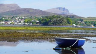 Portree and boat