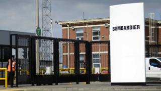 Bombardier announce hundreds of job losses in Northern Ireland