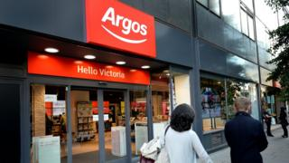Argos store