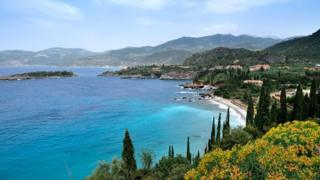 Полуостров Мани - это самый юг материковой Греции