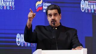 Nicolas Maduro, sınırda askeri tatbikat yapılacağını söyledi.