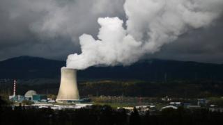 نیروگاه اتمی گسگن در ایالت سولوتهورن سوئیس