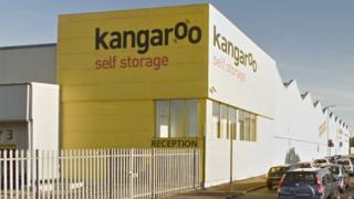 Kangaroo Self Storage facility in Glasgow