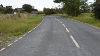 A68 between Consett and Tow Law