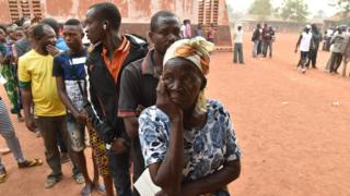 The first round of presidential and legislative polls kicked off in the conflict-torn Central African Republic, with 30 candidates running for president and 1,800 vying for a seat in the National Assembly. The long-delayed elections that are key to ending years of brutal sectarian unrest were postponed on December 25 for three days until December 30.