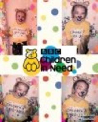 Image of girl as Pudsey