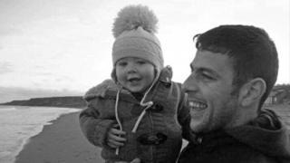 Jase Hyndman with dad James Hyndman