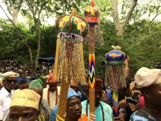 Osun festival in south-western Nigeria - August 2019