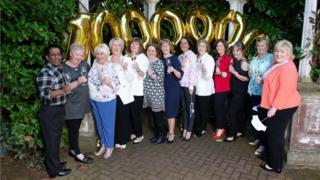 Lottery winner nurses