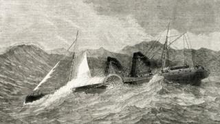 Paddle steamer the Lelia