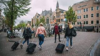 Hollanda'da bir sokak