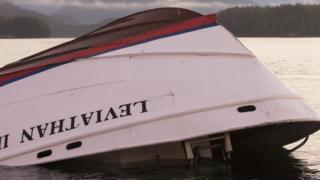The whale-watching boat, Leviathan II, sank near Tofino, British Columbia on Sunday