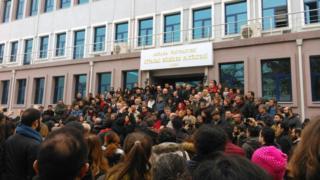 Ankara Üniversitesi protesto