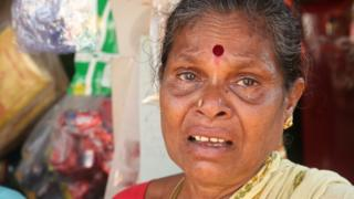 తిత్లీ తుపాను బాధితురాలు