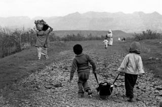 Near Zakho, northern Iraq, Kurdistan, April 1991